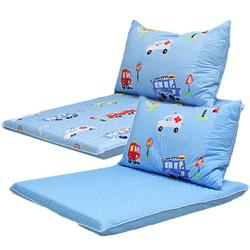 방수휴식매트세트-파랑