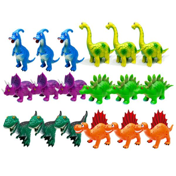 소프트티거공룡18pcs